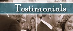 NYC Wedding Officiant - Testimonials