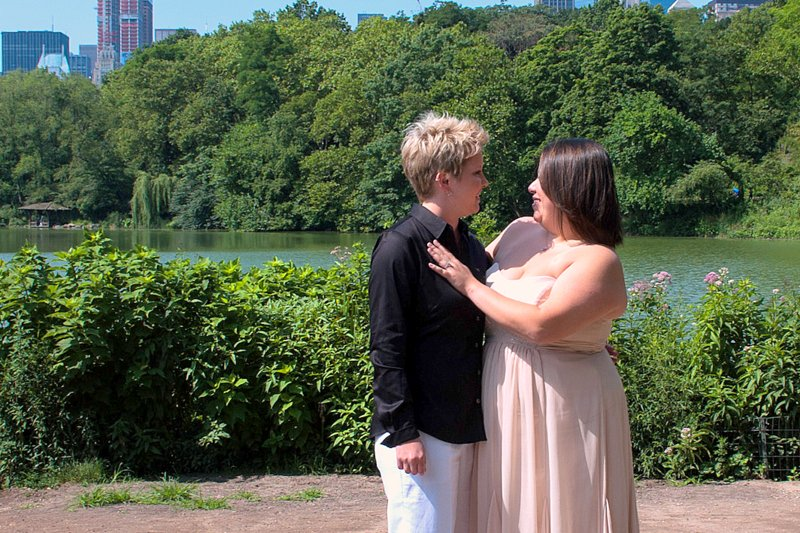 Same Sex Wedding Central Park