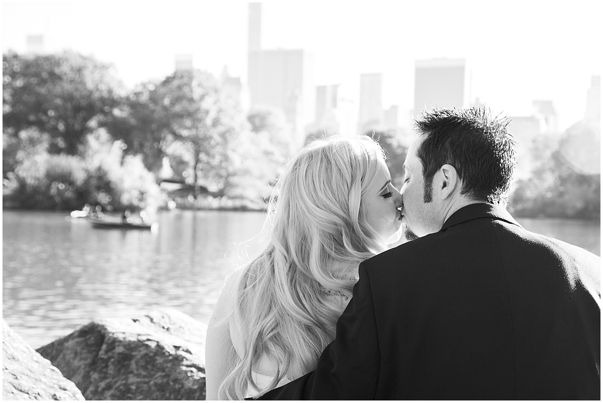 Fall Central Park Wedding Elopement