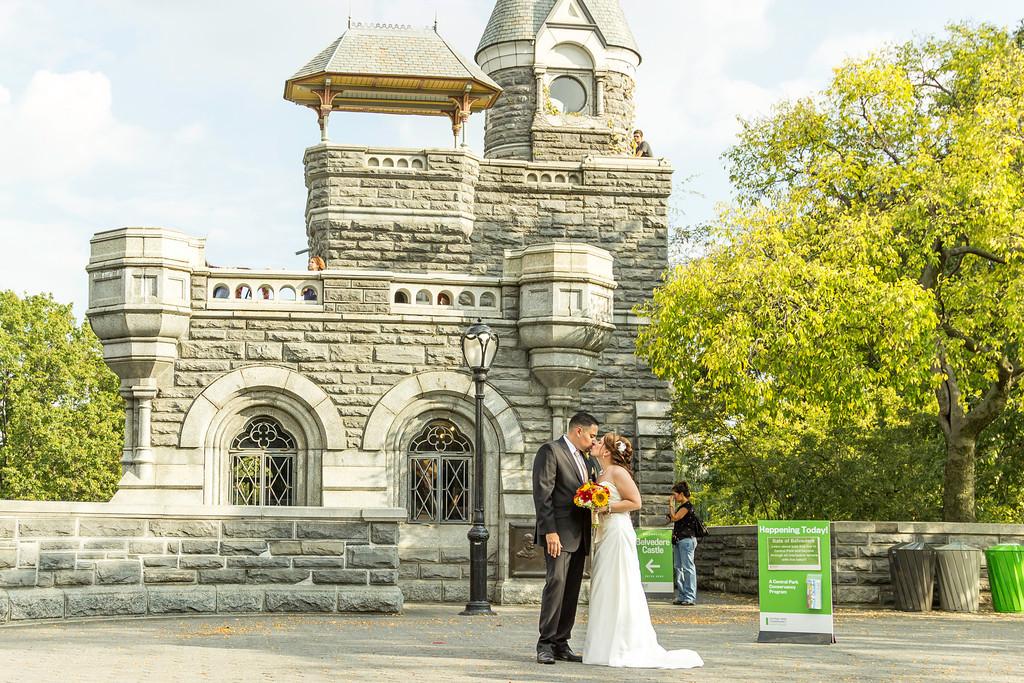 Belvedere Castle Central Park Elopement