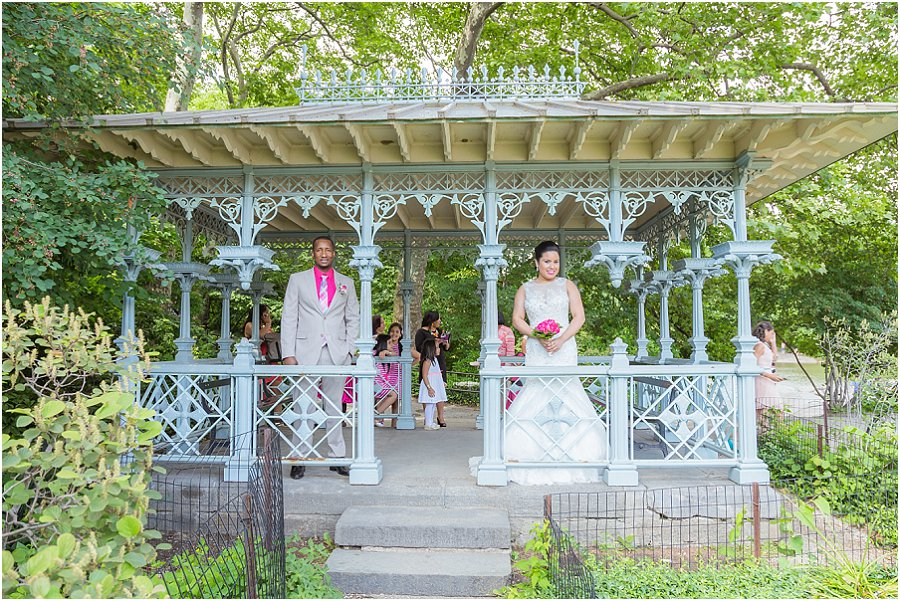Central Park Elopement Ladies Pavilion