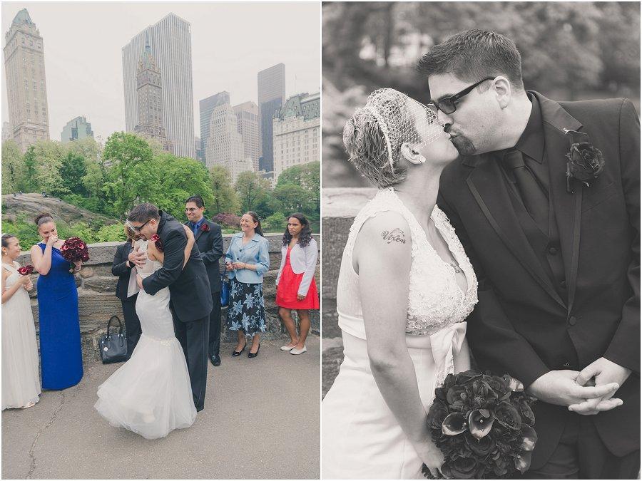 Central Park Gapstow Bridge Wedding Elopement_0003