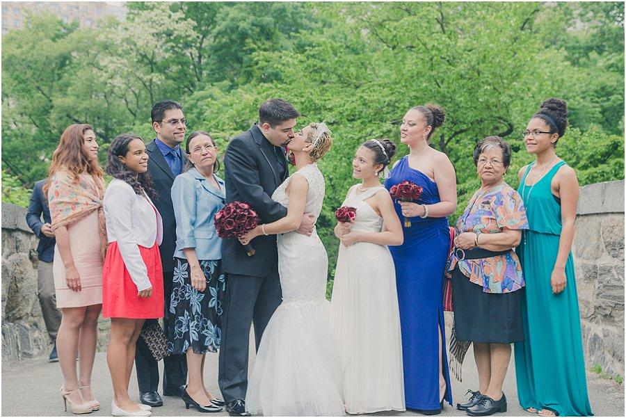 Central Park Gapstow Bridge Wedding Elopement_0005