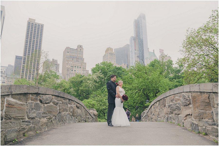 Central Park Gapstow Bridge Wedding Elopement_0006