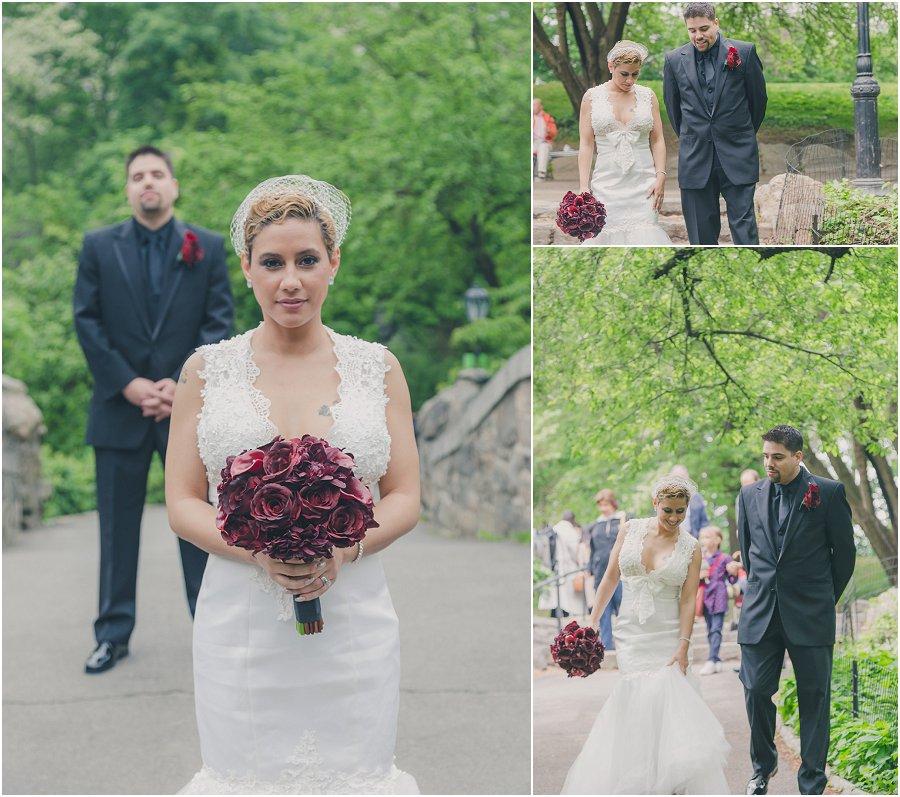 Central Park Gapstow Bridge Wedding Elopement_0007