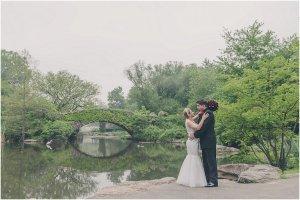 Central Park Wedding – Gapstow Bridge