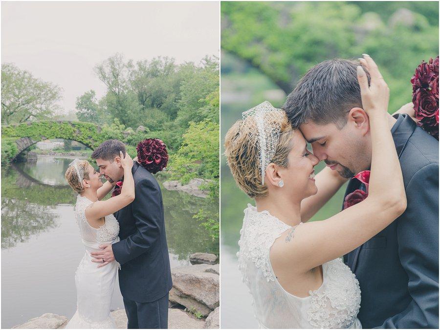 Central Park Gapstow Bridge Wedding Elopement_0009
