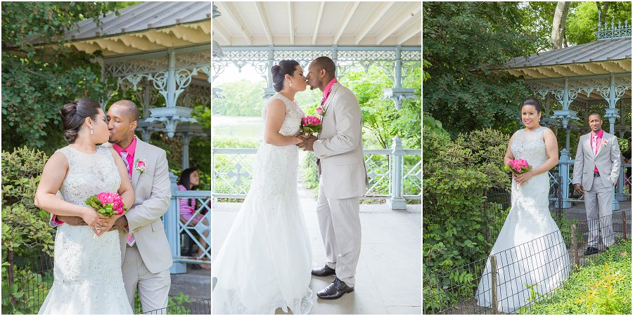 Central Park Ladies Pavilion Wedding