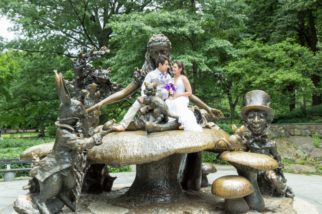 Central Park Marriage Photography