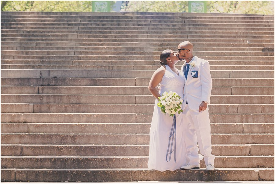 Central Park Wedding Bethesda Steps