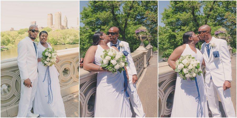 Central Park Wedding Bow Bridge