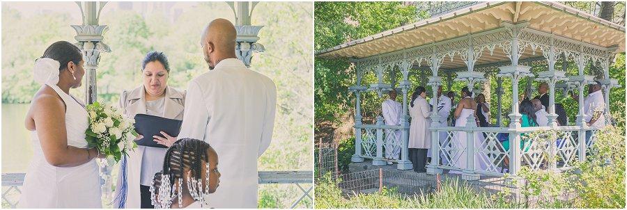Central Park Wedding Ceremony Ladies Pavilion