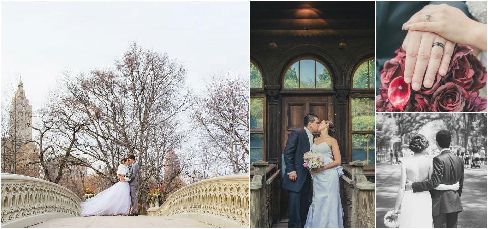 Central Park Wedding Elopement Packages