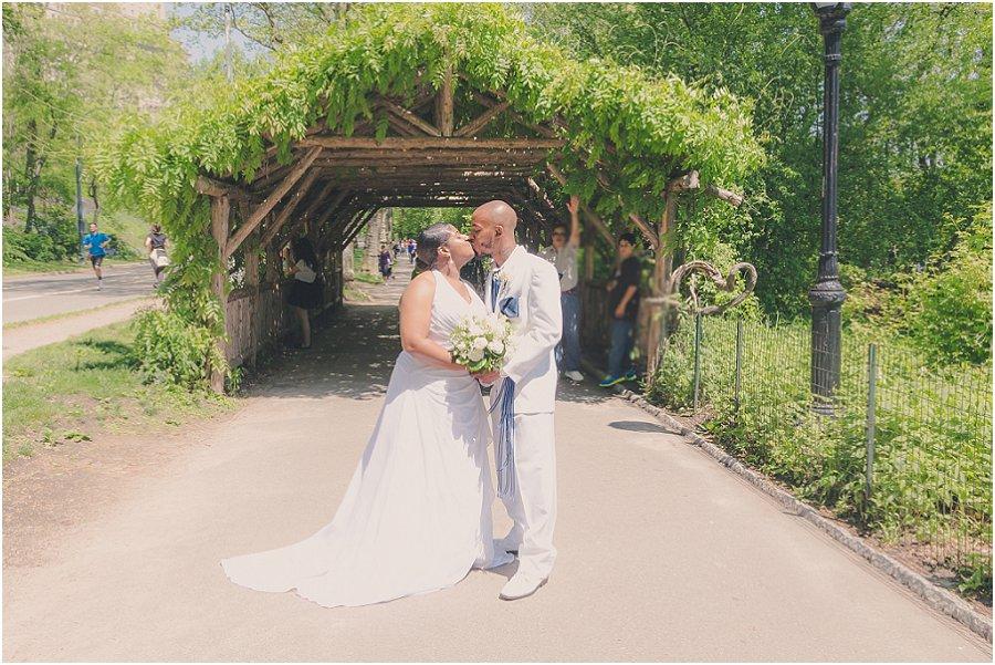 Central Park Wedding Elopement Photo