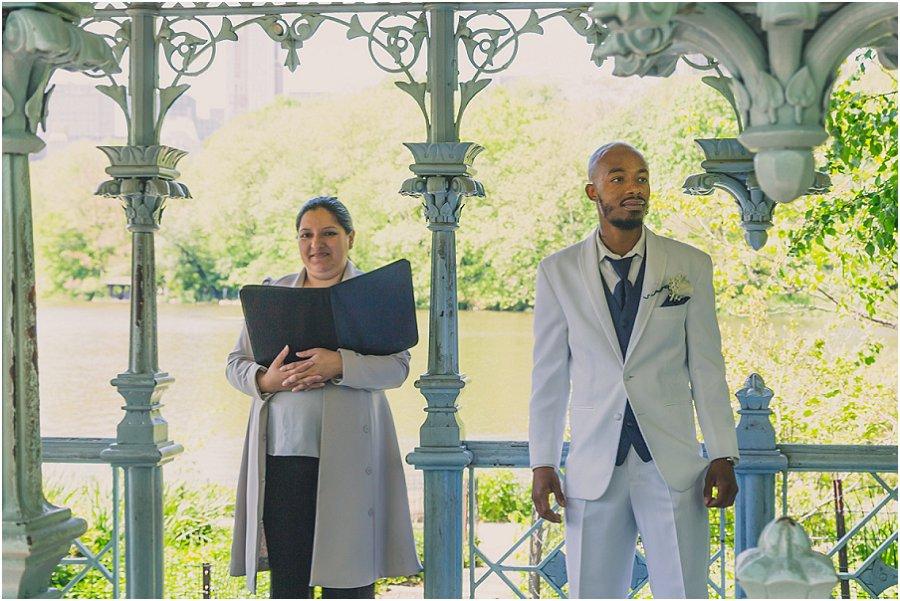 Central Park Wedding - Ladies Pavilion