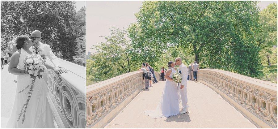 Central Park Wedding NYC Bow Bridge