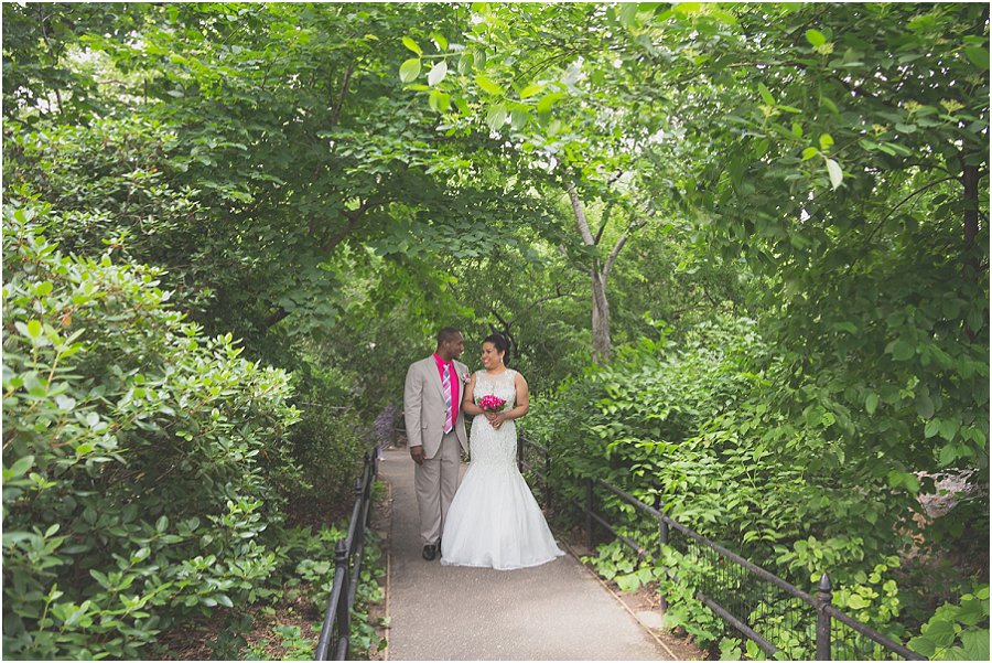Central Park Wedding - Trees