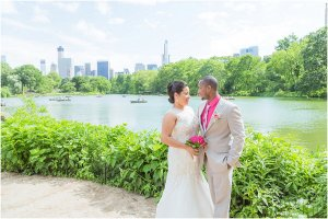 Central Park Summer Wedding – Oak Bridge