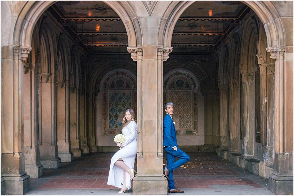 Fall Wedding Central Park - Bethesda Terrace
