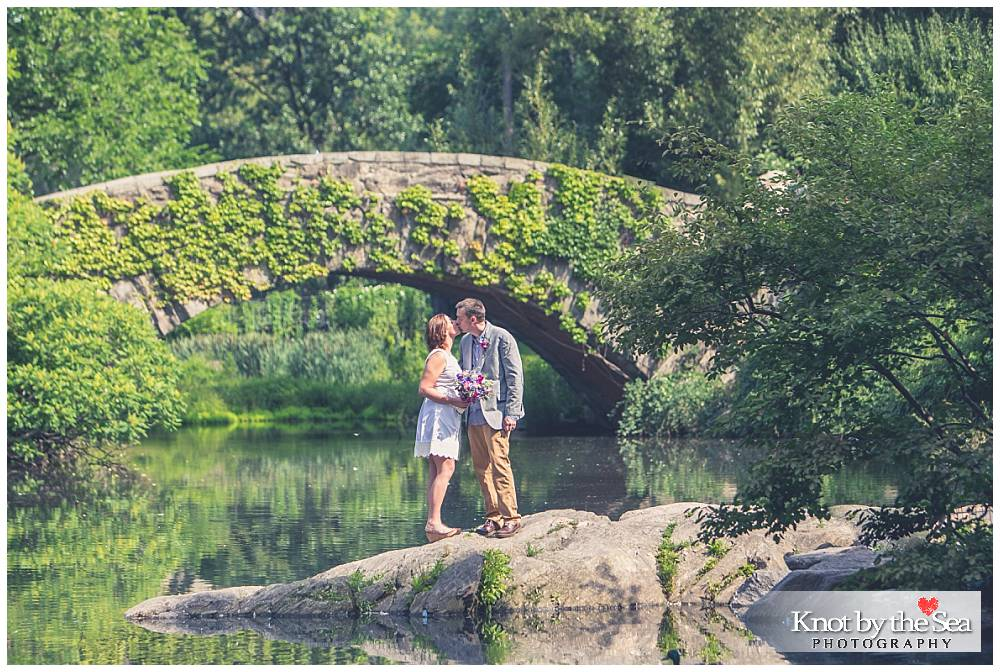 The Pond - Gapstow Bridge Central Park Wedding