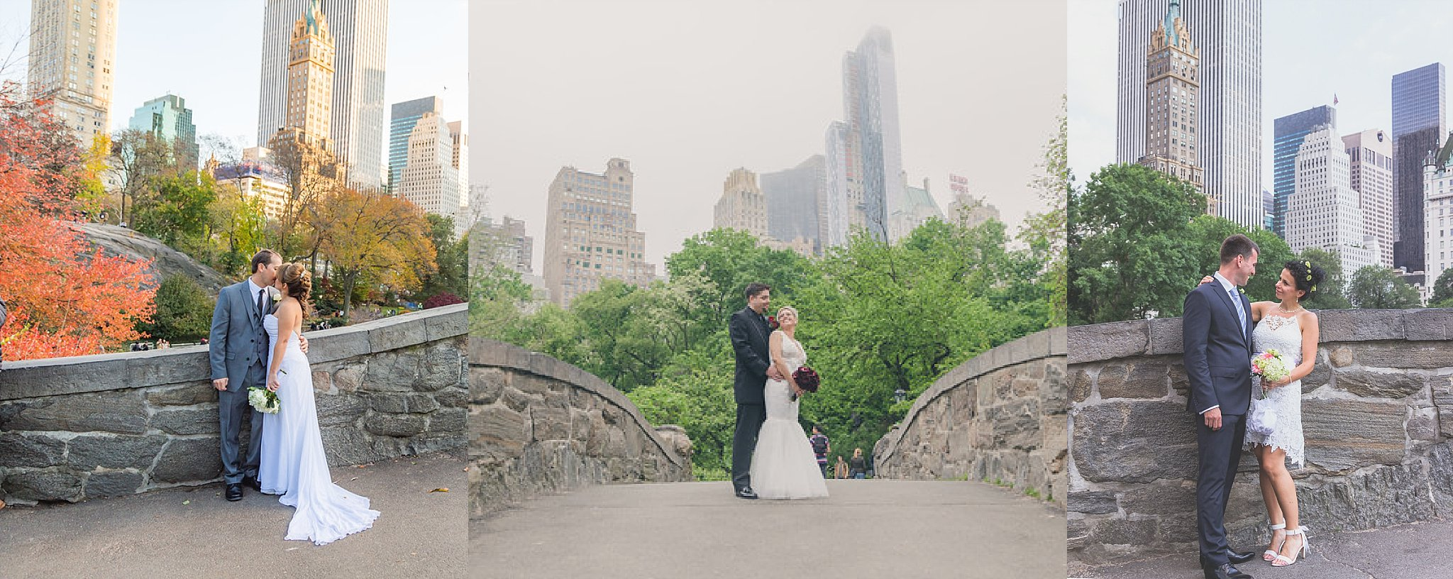 Gapstow Bridge Central Park Wedding Ceremony Location