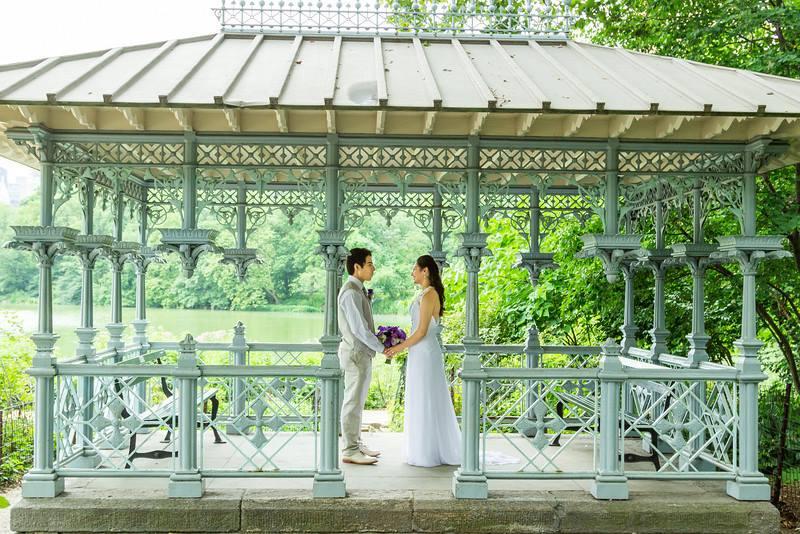 Ladies Pavilion - Central Park Wedding - New York City