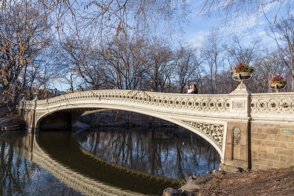 Bow Bridge - Central Park Wedding