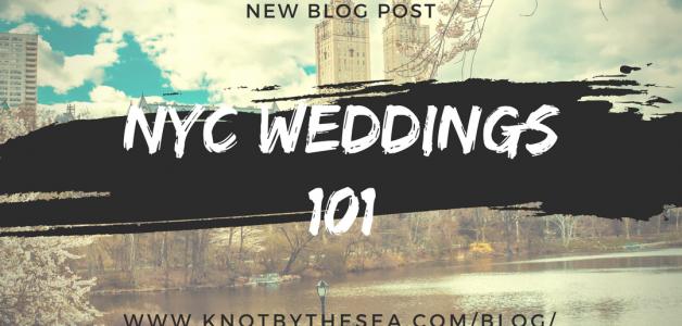 NYC WEDDINGS 101